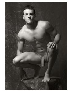 Male nude art photography