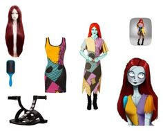 sally by mayleneholm on Polyvore featuring Disguise, COSTUME NATIONAL and Denman