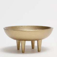 GOLDEN BOWL INCENSE HOLDER - New Arrivals | Zara Home United States of America
