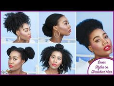 7 Super Easy Styles on Stretched Natural Hair | Curly Nikki | Natural Hair Care