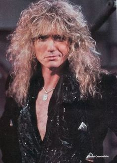 Whitesnake David Coverdale Whitesnake is an English hard rock band formed in 1978 by David Coverdale, after his departure from his previous band Deep Purple. Big Hair Bands, Hair Metal Bands, David Coverdale, Rock N Roll Music, Rock And Roll, Whitesnake Band, Blood Of Heroes, Steve Vai, 80s Hair