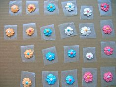 How to Make Adorable Frosting Flowers: A Photo Tutorial: Finish the Flowers
