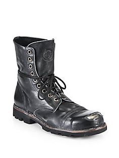 28879847c5 Diesel Hardkor Steel Lace-Up Boots Review Tall Lace Up Boots, Leather Lace  Up