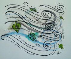 Breeze illustration commission