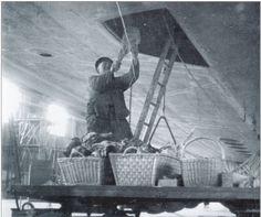 Hindenburg, Stocking the Zeppelin kitchen