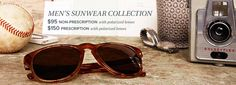 Warby men's shades