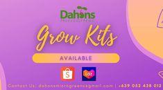 Grow Kit, Instagram Shop