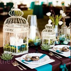 La cage à oiseau en centre de table 1 : j'adooore!