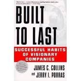 """Bult to Last: As described by the authors, Built to Last is """"a book about visionary companies."""" This revolutionary book gives practical guidance to those who would like to build landmark companies that stand the test of time.Citing research from a six-year project at the Stanford University, authors Collins and Porras studied eighteen of the most profitable and exceptional companies and studied each company in direct comparison to top competitors."""