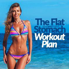 The Flat Stomach Workout Plan
