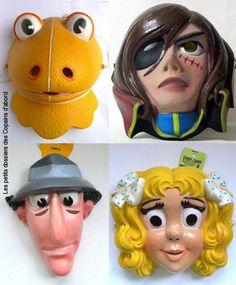 Les masques de carnaval de nos héros préférés par Nath-Didile - Les petits dossiers des Copains d'abord