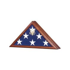 Presidential Flag Case Burial Flag open Box via Polyvore featuring home, home decor, small item storage, military home decor and home wall decor