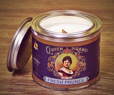 Soy Wax Candles, Scented Candles, Candle Jars, Vintage Style, Vintage Fashion, Queen B, Tin, Designers, Organic