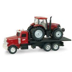 Ertl - Case IH Dealer Truck with Puma Tractor