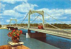 A bridge over Tigris river in Baghdad - Iraq 1965 ♥