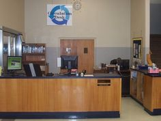 The Circulation Desk at the Walker Memorial Library on the Howard Payne University campus is a welcoming sight for Faculty, Staff & Students.