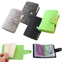 Fashion Accessories Unisex Women Men Vintage Pouch ID Credit Card Wallet Cash Holder Organizer Case Box Pocket  J2Y #Affiliate