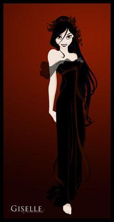 LOVE, Favorite Disney Princess Goth-style. :)