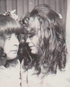 A Friend & Pamela Des Barres