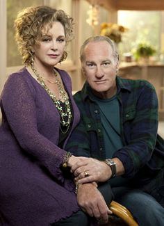 Character Inspiration: Grandma/Grandpa from Parenthood TV series.... Love their characters