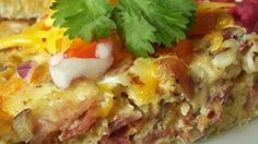 Egg casserole is a delicious dish and is super quick and easy to make