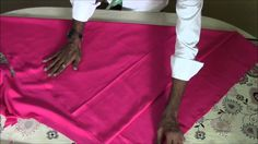 Anarkali or Umbrella Top and Churidhar Cutting