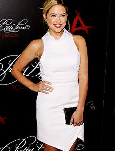 ashley benson - PLL 100th episode party