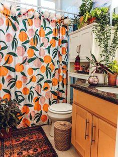 Rental Bathroom, Diy Bathroom Remodel, Boho Bathroom, Small Bathroom, Budget Bathroom, Master Bathroom, Modern Bathroom, Colorful Bathroom, Bathroom Cleaning