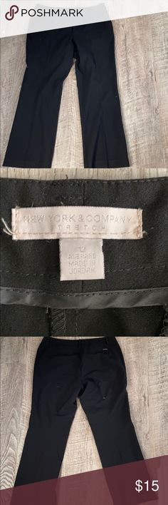"NY&CO Black Dress Pant - Size 12 Approximately 29"" inseam.  EUC New York & Company Pants"
