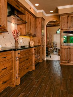 Rustic Kitchen Design, Pictures, Remodel, Decor and Ideas - page 22