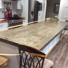 Kitchen redesigns are very popular right now amongst our clients.This is a 11 foot center island for a kitchen in Lomita!  We foresee their kitchen becoming hub in their home for entertaining.  #woodwork #design #interiordesign #woodworking #interiordesig