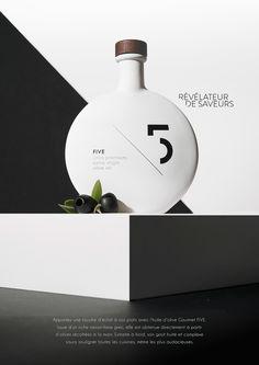 Emballage sur mesure pour l'huile d'olive