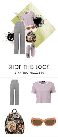 """""""CHERRY"""" by angel534 on Polyvore featuring Carmen March, STELLA McCARTNEY, Dries Van Noten and Vans"""