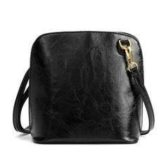Women Shell Design Casual Zipper Crossbody Bags Ladies Candy Color Shoulder Bags