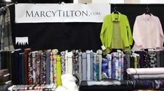 Marcy and Katherine Tilton at the 2015 Sewing & Stitchery Expo. This is a video from our booth at last year's show. The Sewing & Stitchery Expo is back - Feb. 25-28th, 2016 in Puyallup, Washington. Come and see our beautiful fabrics, attend a few seminars, and have some fun! Booths 600-606 (the Showplex Building). We'd love a chance to meet you, so drop in and visit! Registration and other info: https://www.sewexpo.com/index.htm