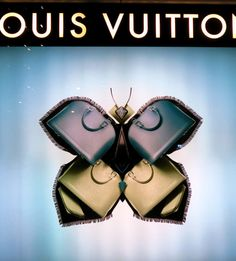 The Amazing Louis Vuitton Insect Window Displays