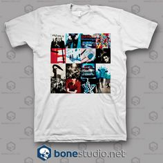 17e17dbf5f93 Achtung Baby U2 Band T Shirt - Adult Unisex Size S-3XL