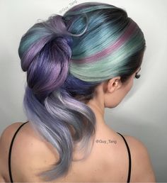 Soft Spring Metallics  by @guy_tang Style by @hairbymajken  #hotonbeauty hothairvids #springfever #shoutoutsunday by hotonbeauty
