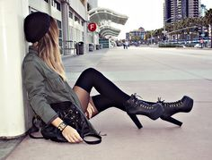 How to Styling Jeffrey Campbell Litas 1