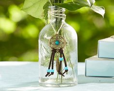 Dreamcatcher Vase - Boho Bride (set of 12)
