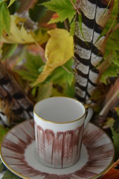 Tasse café Panache, Marie Daage