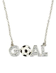 Goal Soccer Necklace | Necklaces | Jewelry | Shop Justice.I have this necklace