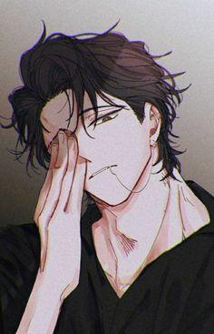 Anime Boy Hair, Hot Anime Boy, Anime Art Girl, Anime Boy Drawing, Anime Boys, Chica Anime Manga, Manga Boy, Anime Kawaii, Cool Anime Guys