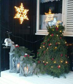 Granbar dame  juletre