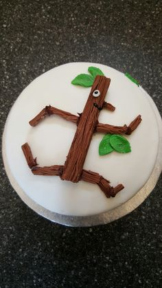 Stick man birthday cake stickman Pinterest Men birthday cakes