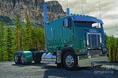 Freightliner Cabover Photograph by Randy Harris
