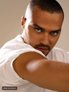 Jesse Williams. Can't wait for Grey's Anatomy to start back up so I can stare at him every Thursday night.