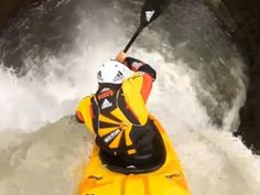 Kayakers hit world's largest waterfall drops