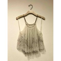 Camisole Free People Beige size S International in Polyester - 10963398 Top Free, Luxury Consignment, Free People Tops, Camisole, Tulle, Sequins, Beige, Clothes For Women, Tank Tops