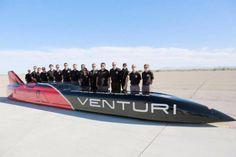 Venturi VBB-3. Record du monde en voiture électrique. 2016